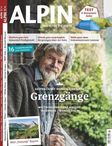 Cover: Alpin Das Bergmagazin No 06 2021