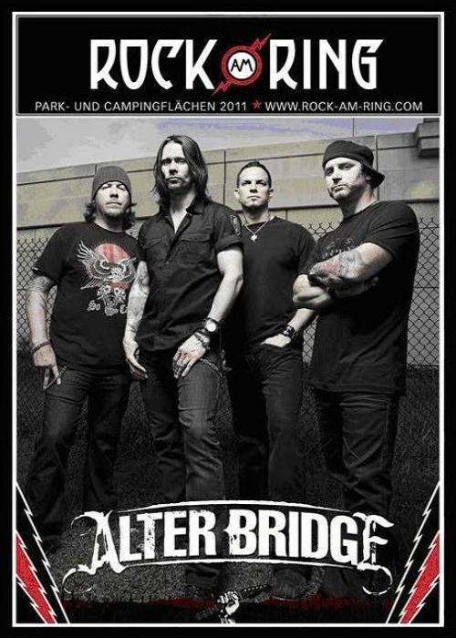 Alter Bridge - Rock am Ring 2011