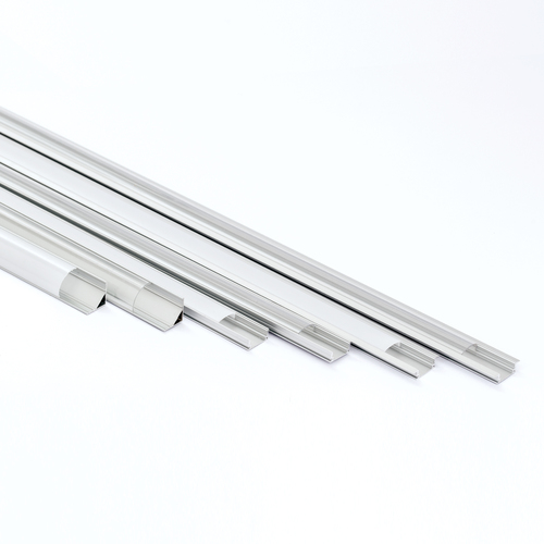 aluprofil aluminium profile alu schiene abdeckung leiste f r led strips profil ebay. Black Bedroom Furniture Sets. Home Design Ideas