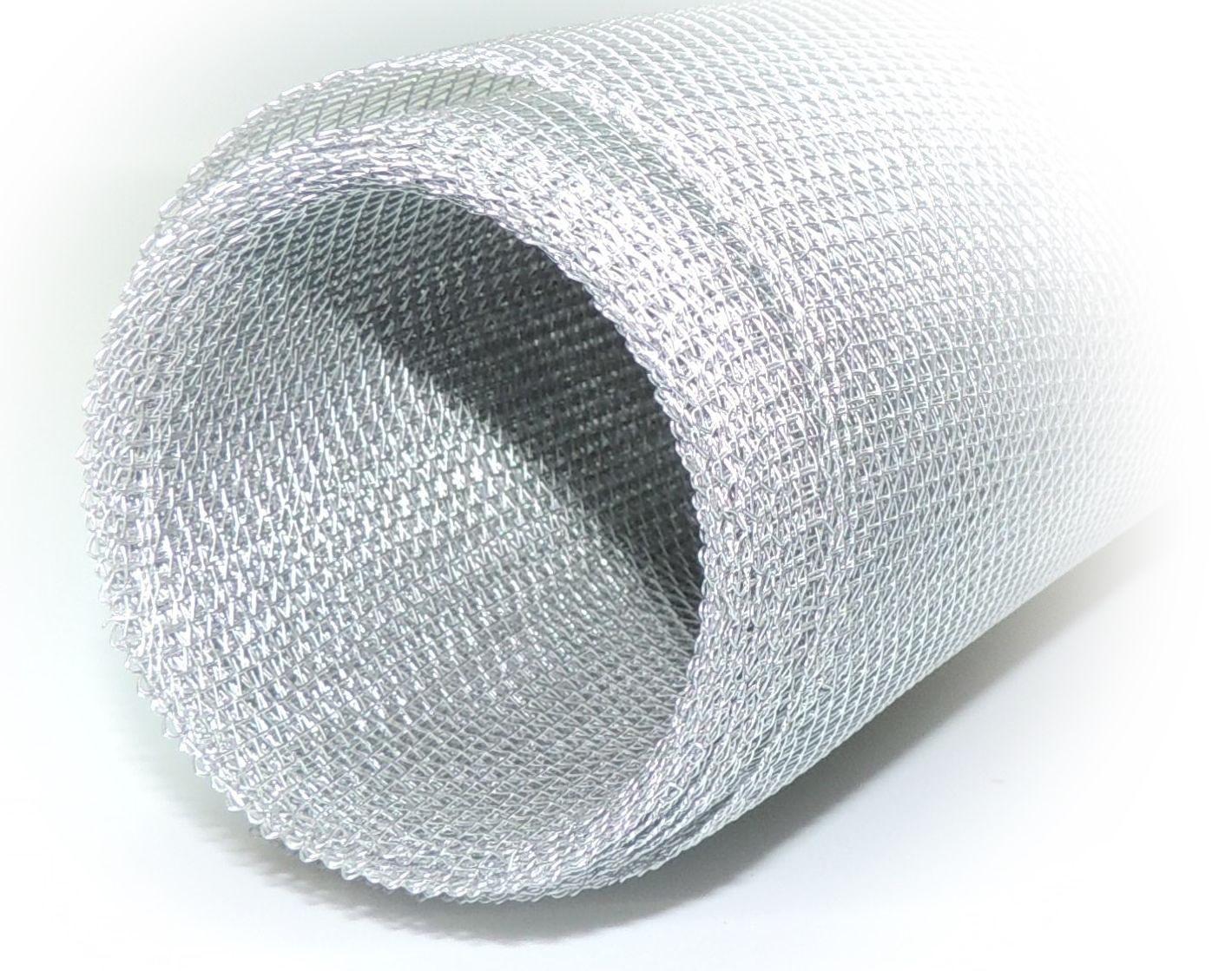 alu gaze lichtschacht draht aluminium metall gewebe gitter