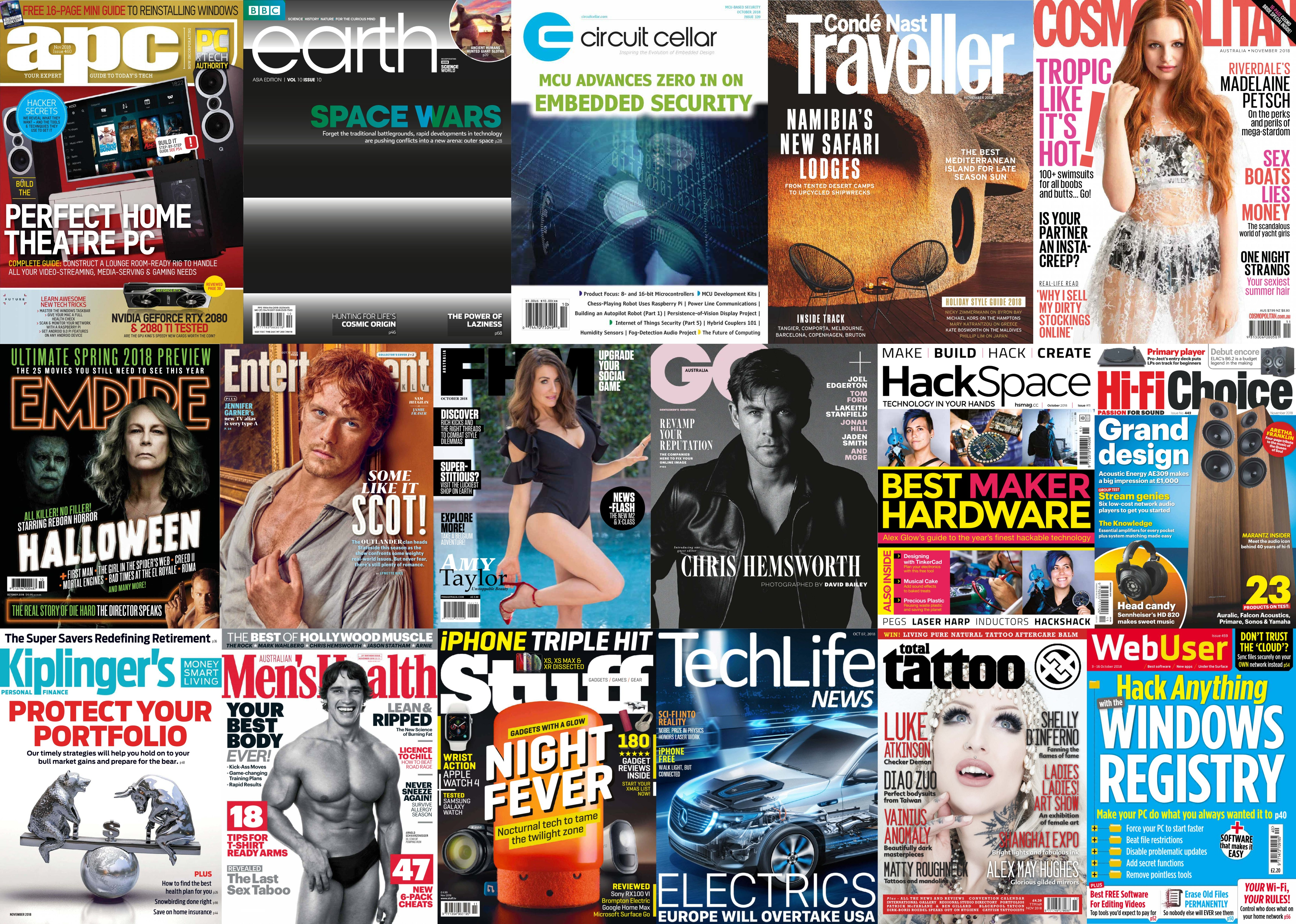 Assorted Magazines - October 9, 2018   Free eBooks Download - EBOOKEE!