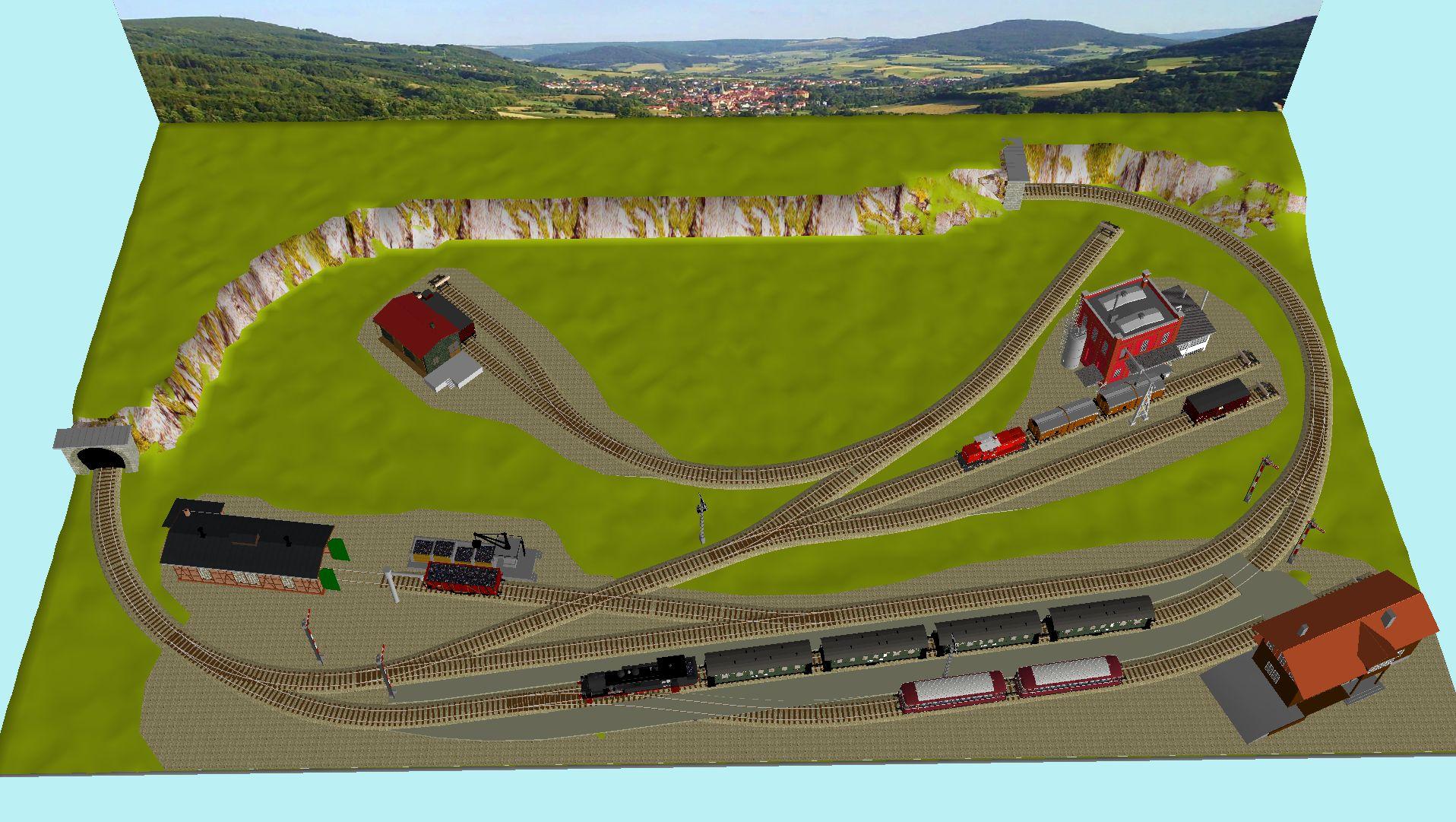 'ALBA Modellbahnpraxis' Band 1, Plan 5 Amp-1_5_25fjpx