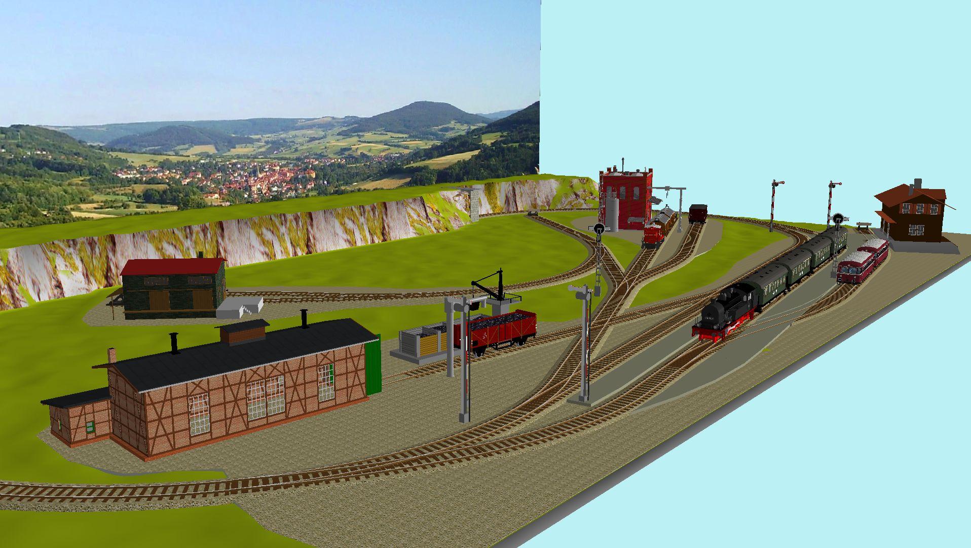 'ALBA Modellbahnpraxis' Band 1, Plan 5 Amp-1_5_3npk6p