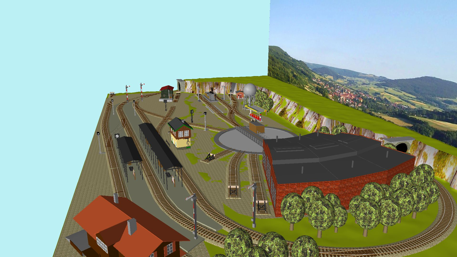 'ALBA Modellbahnpraxis' Band 1, Plan 5 Amp-1_5_bw_10vj7n