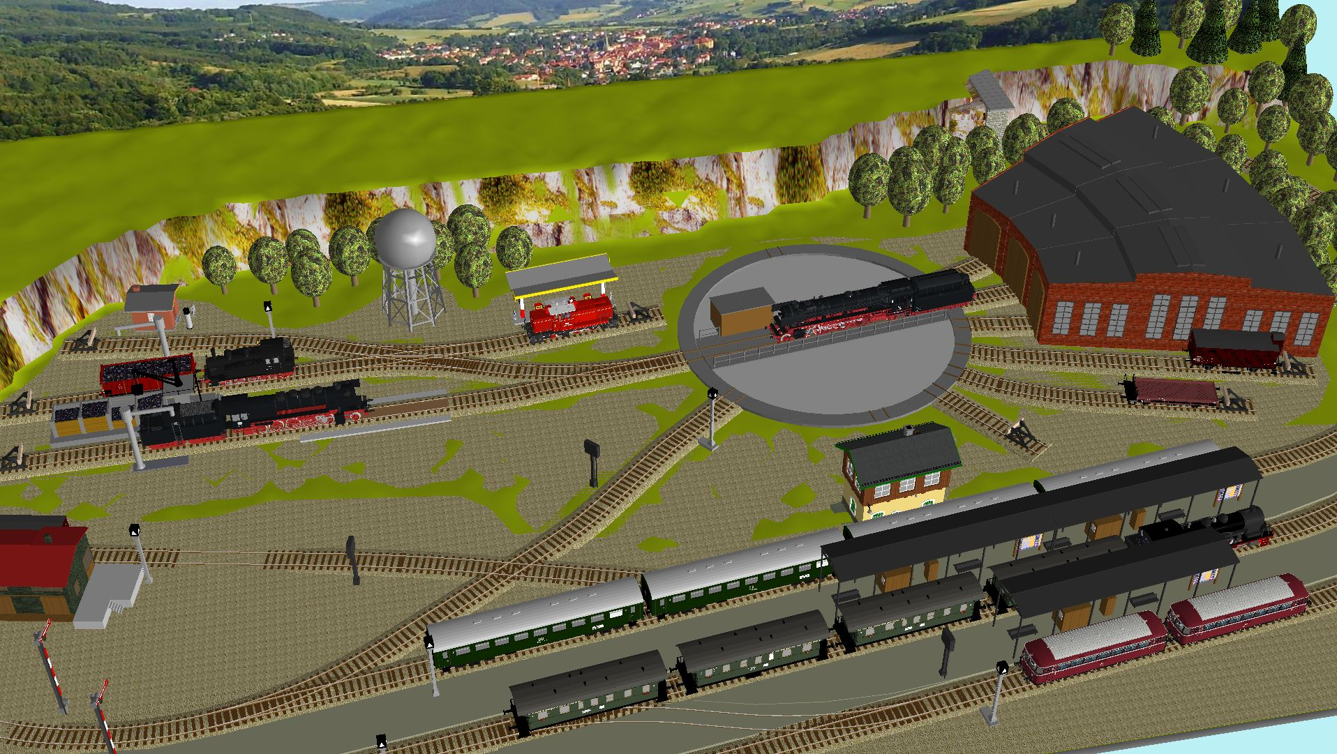 'ALBA Modellbahnpraxis' Band 1, Plan 5 Amp-1_5_bw_3xoj1n