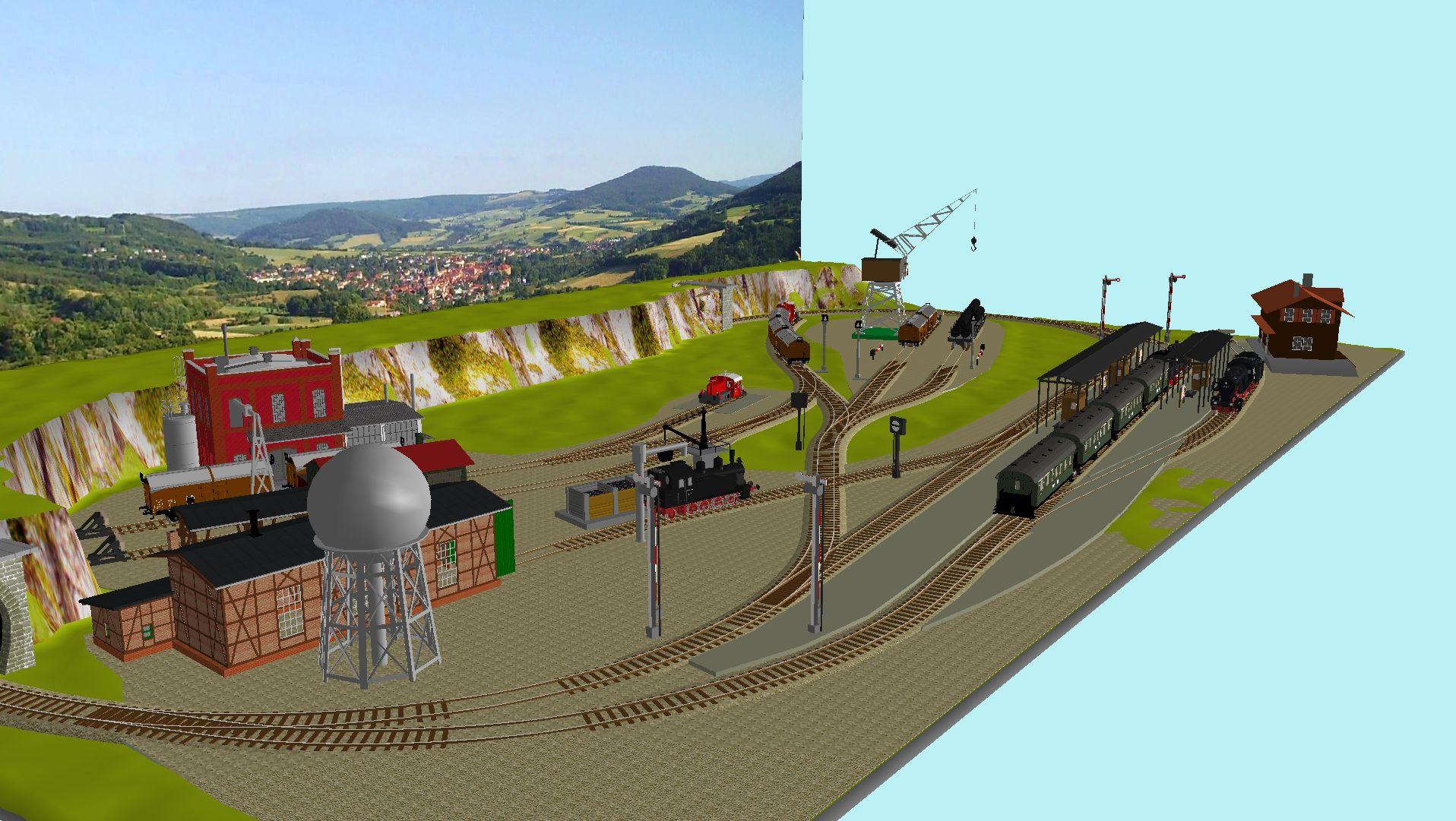 'ALBA Modellbahnpraxis' Band 1, Plan 5 Amp-1_5_c-gleis_10tju3
