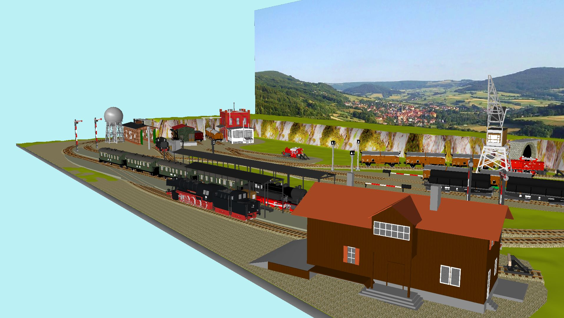 'ALBA Modellbahnpraxis' Band 1, Plan 5 Amp-1_5_c-gleis_3bhki6