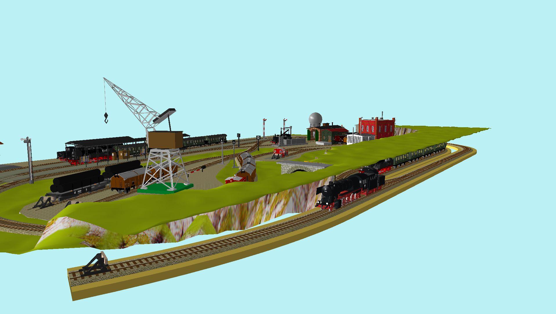 'ALBA Modellbahnpraxis' Band 1, Plan 5 Amp-1_5_c-gleis_6chjvh