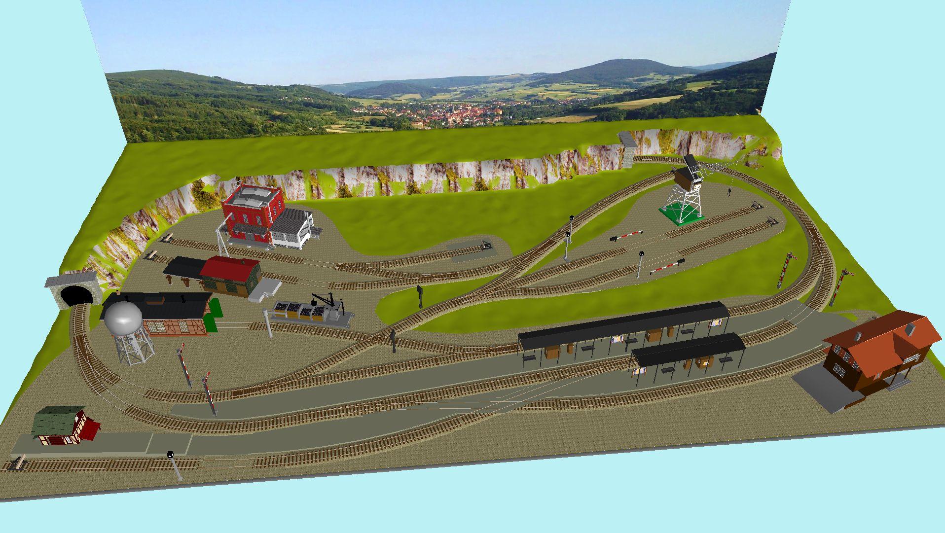 'ALBA Modellbahnpraxis' Band 1, Plan 5 Amp-1_5_c-gleis_freil58kcw