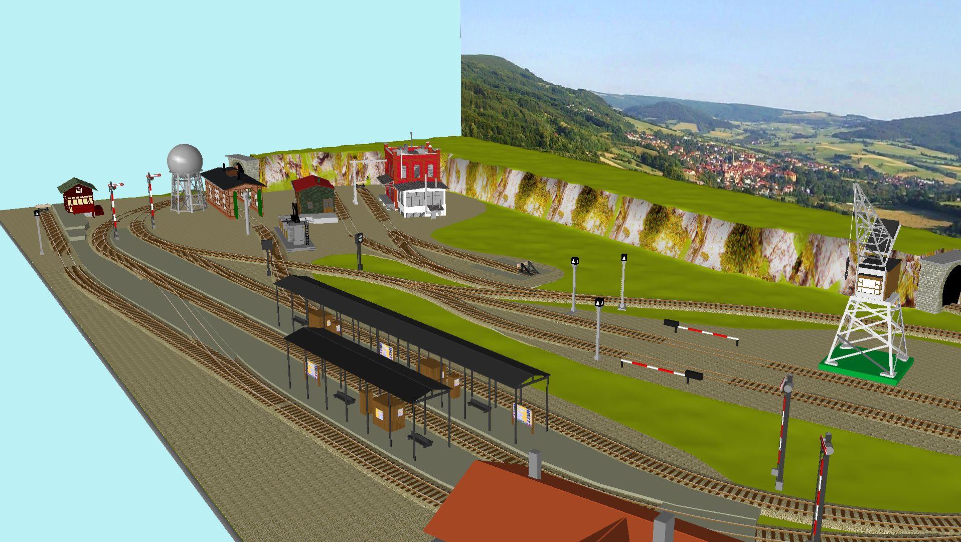 'ALBA Modellbahnpraxis' Band 1, Plan 5 Amp-1_5_c-gleis_freilebjbm