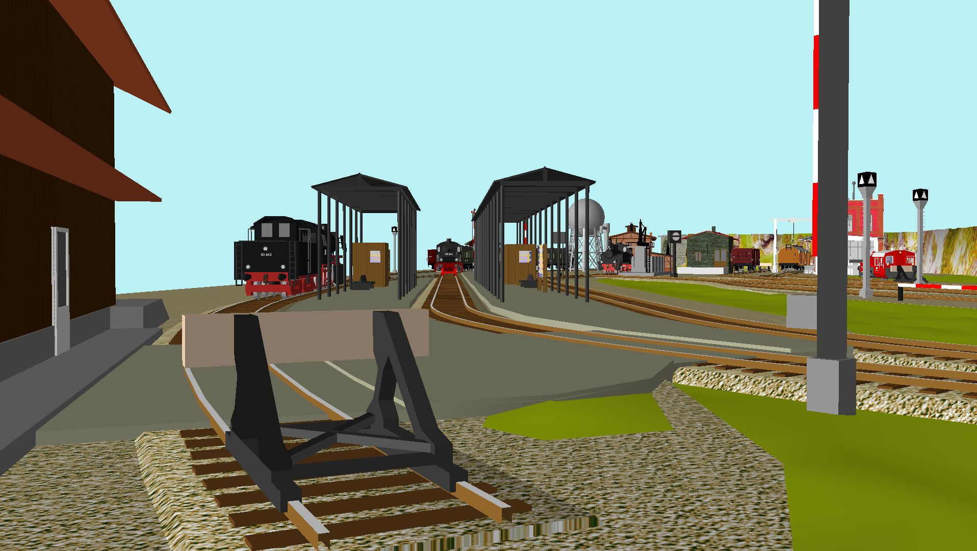 'ALBA Modellbahnpraxis' Band 1, Plan 5 Amp-1_5_c-gleis_freilqtk3r