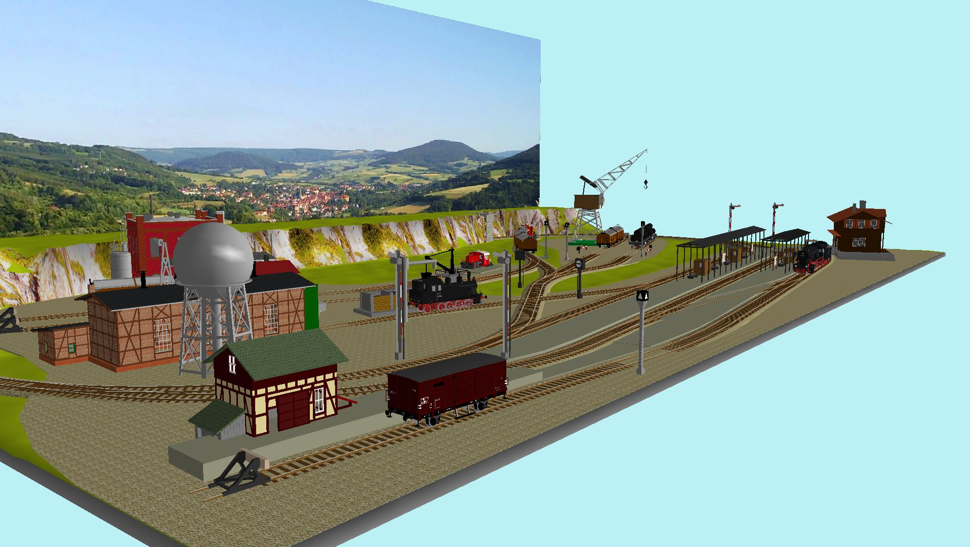 'ALBA Modellbahnpraxis' Band 1, Plan 5 Amp-1_5_c-gleis_freiluwkiu