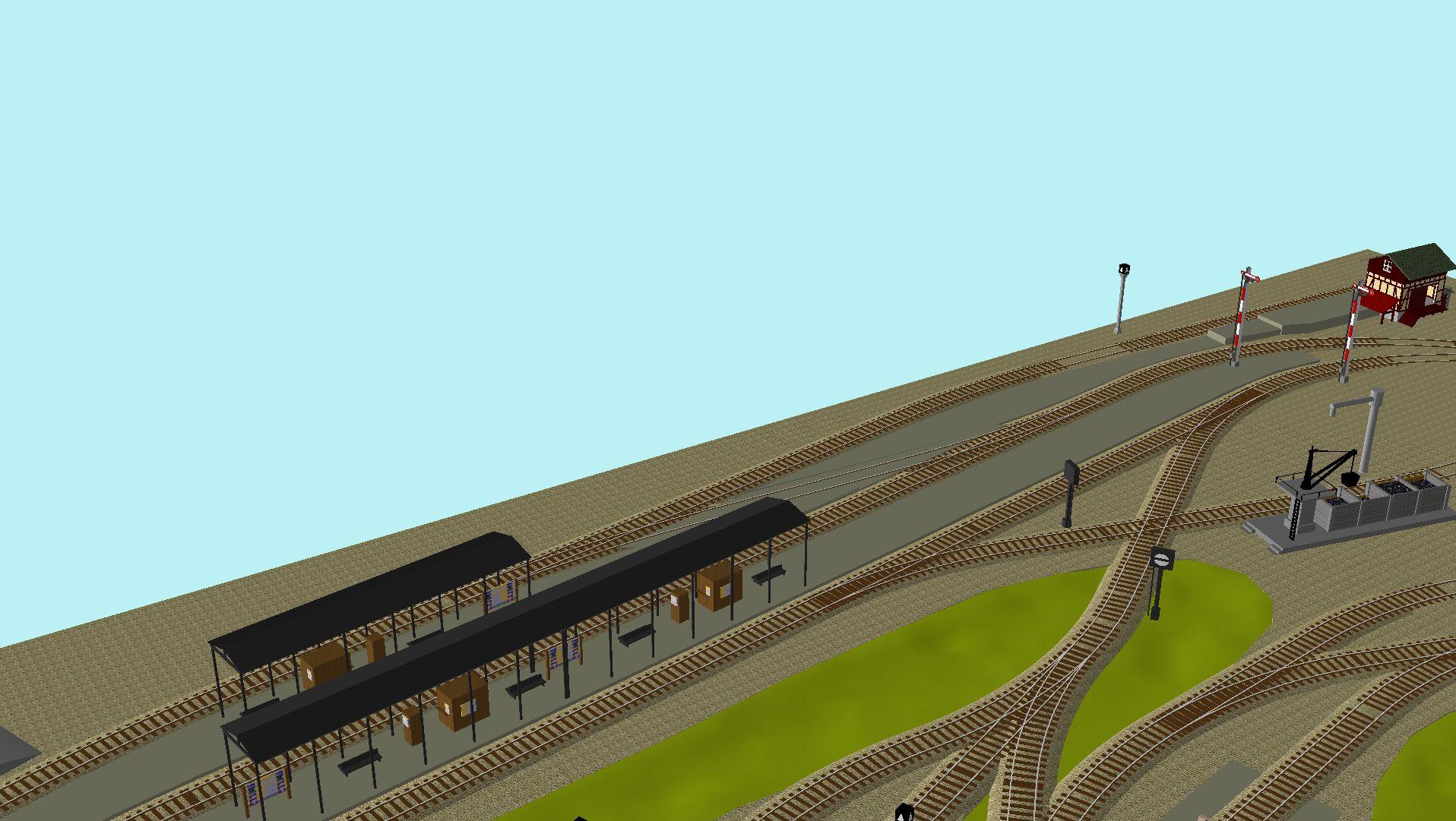 'ALBA Modellbahnpraxis' Band 1, Plan 5 Amp-1_5_c-gleis_freilwljc0