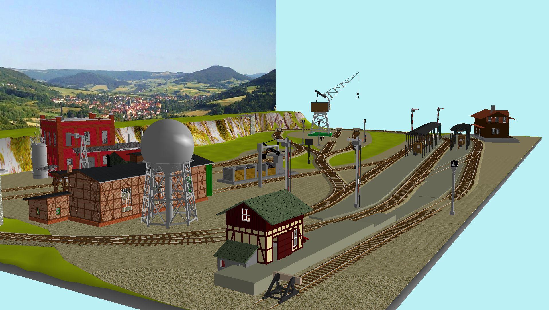 'ALBA Modellbahnpraxis' Band 1, Plan 5 Amp-1_5_c-gleis_freilz5kii