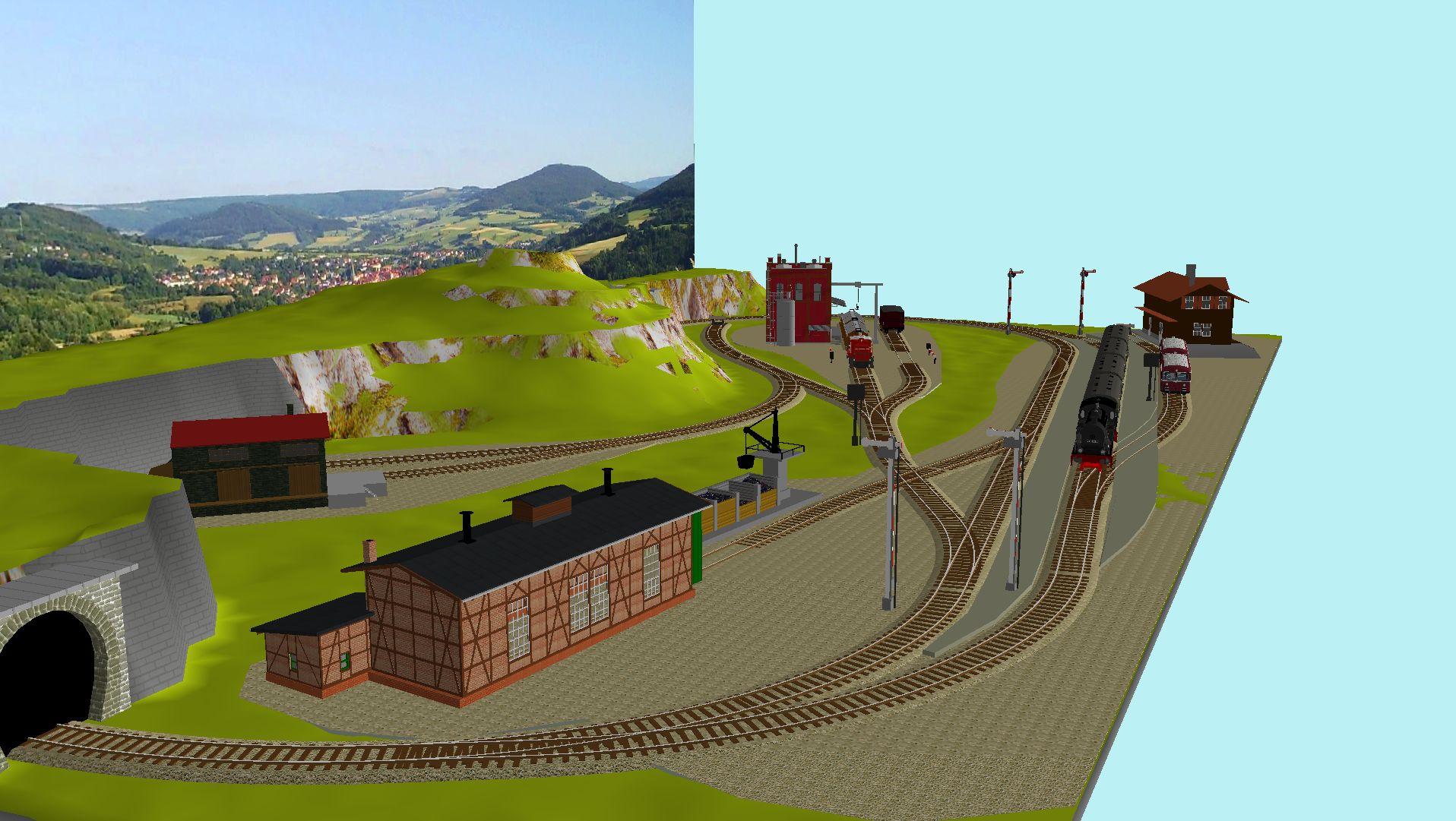 'ALBA Modellbahnpraxis' Band 1, Plan 5 Amp-1_5_k-gleis_1p3jhj