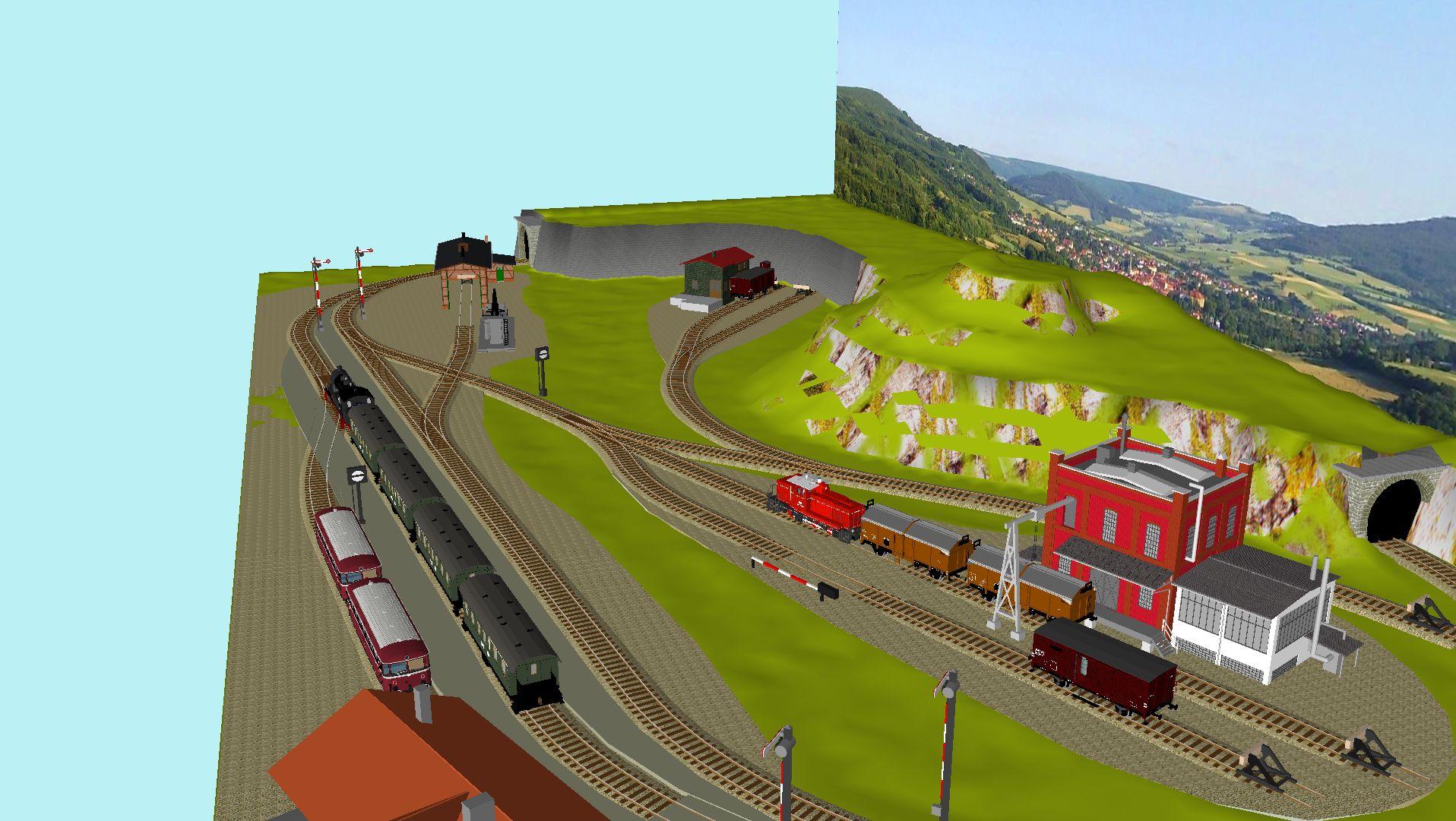 'ALBA Modellbahnpraxis' Band 1, Plan 5 Amp-1_5_k-gleis_239k2n
