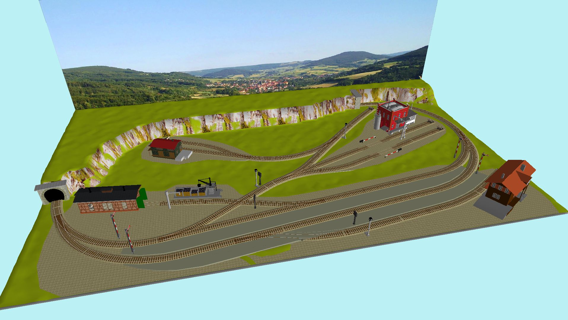 'ALBA Modellbahnpraxis' Band 1, Plan 5 Amp-1_5_m-gleis_2pekwx