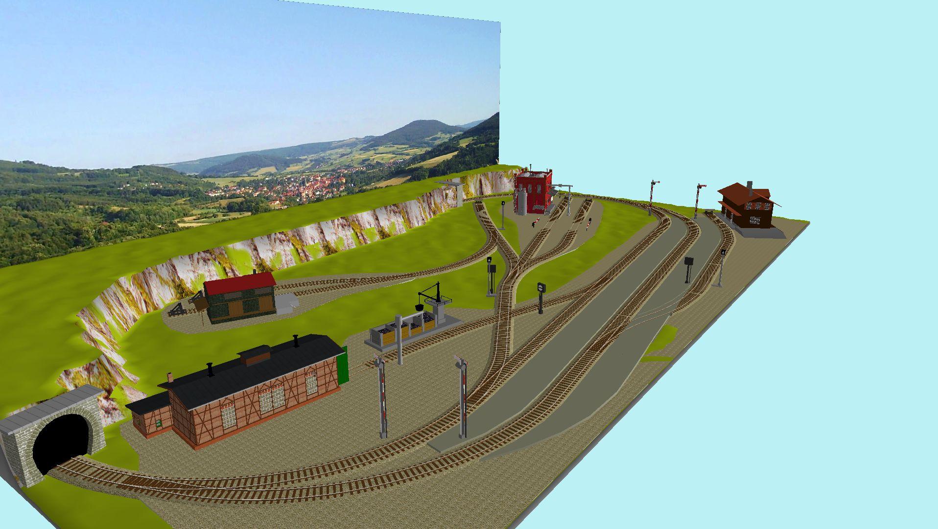 'ALBA Modellbahnpraxis' Band 1, Plan 5 Amp-1_5_m-gleis_314jhx