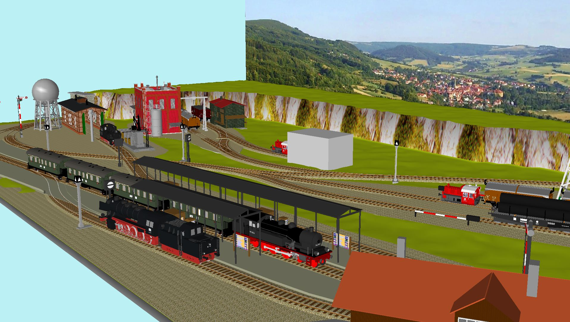 'ALBA Modellbahnpraxis' Band 1, Plan 5 Amp-1_5_m-gleis_jrg_a1nj3l