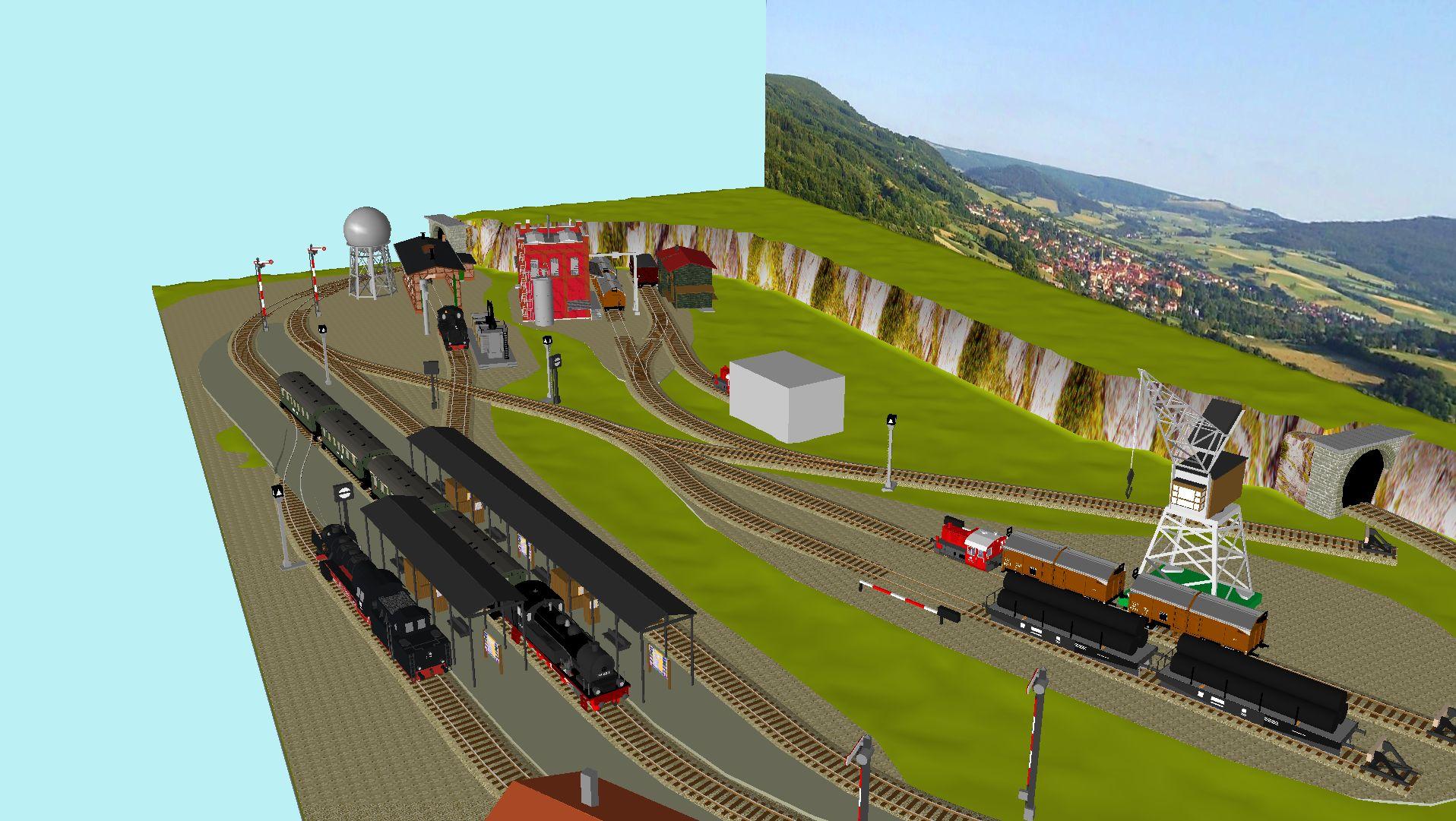 'ALBA Modellbahnpraxis' Band 1, Plan 5 Amp-1_5_m-gleis_jrg_affkgr
