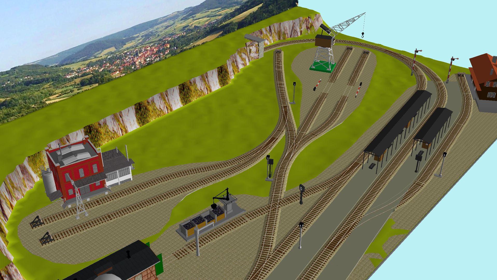 'ALBA Modellbahnpraxis' Band 1, Plan 5 Amp-1_5_m-gleis_jrg_aivks9