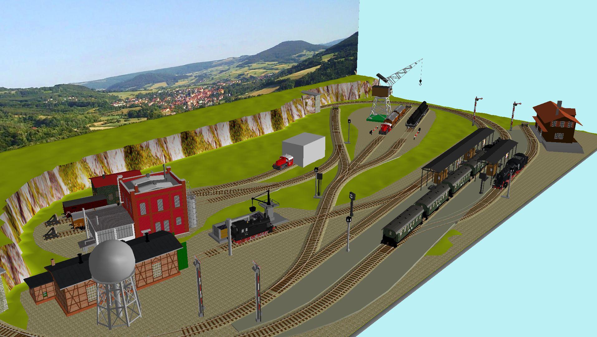 'ALBA Modellbahnpraxis' Band 1, Plan 5 Amp-1_5_m-gleis_jrg_amojdr