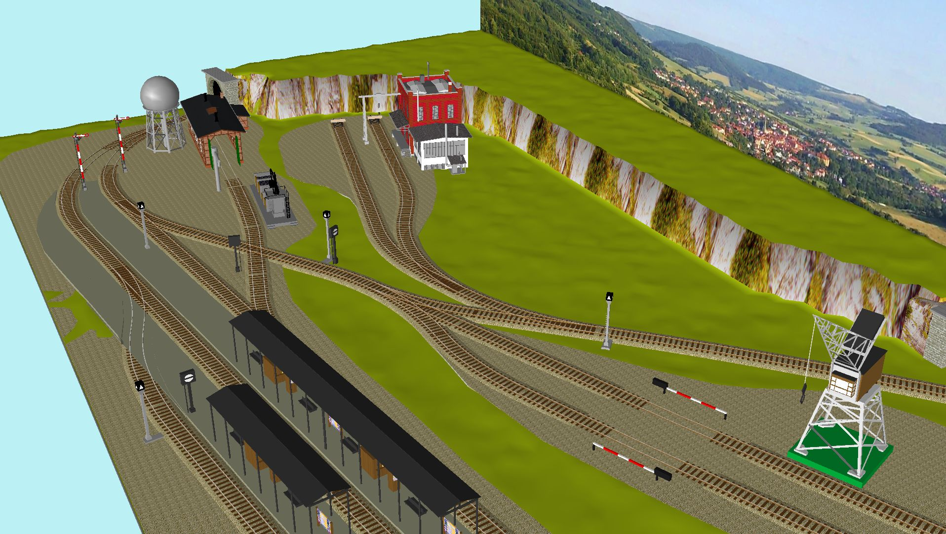 'ALBA Modellbahnpraxis' Band 1, Plan 5 Amp-1_5_m-gleis_jrg_avfjwo