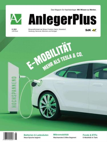 Cover: AnlegerPlus Magazin No 06 2021