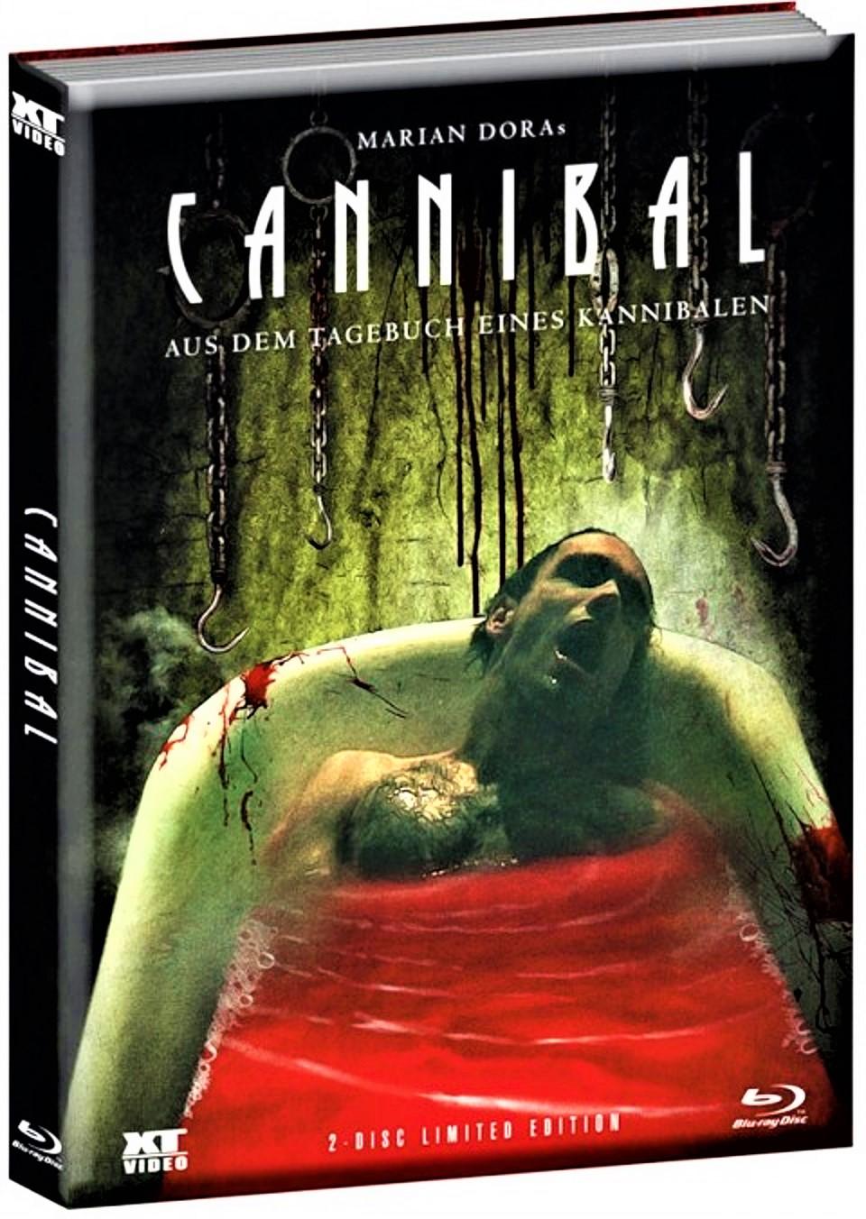 Cannibal Blu Ray & DVD WATTIERT MEDIABOOK UNCUT, deutsch , ovp
