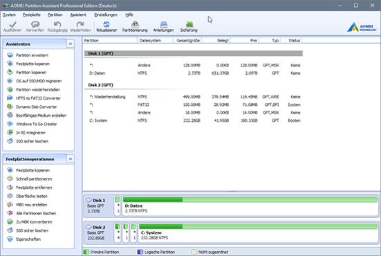 download AOMEI.Partition.Assistant.Technician.v7.1