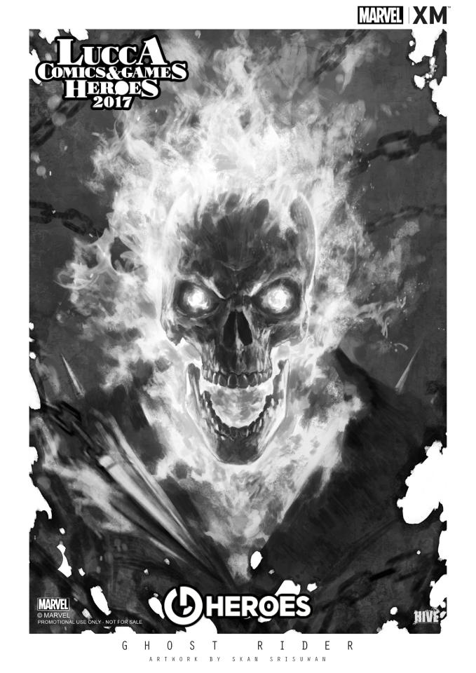 XM Studios: Italy Lucca Comics & Games 2017 - November 01-05 Apgr11ktk