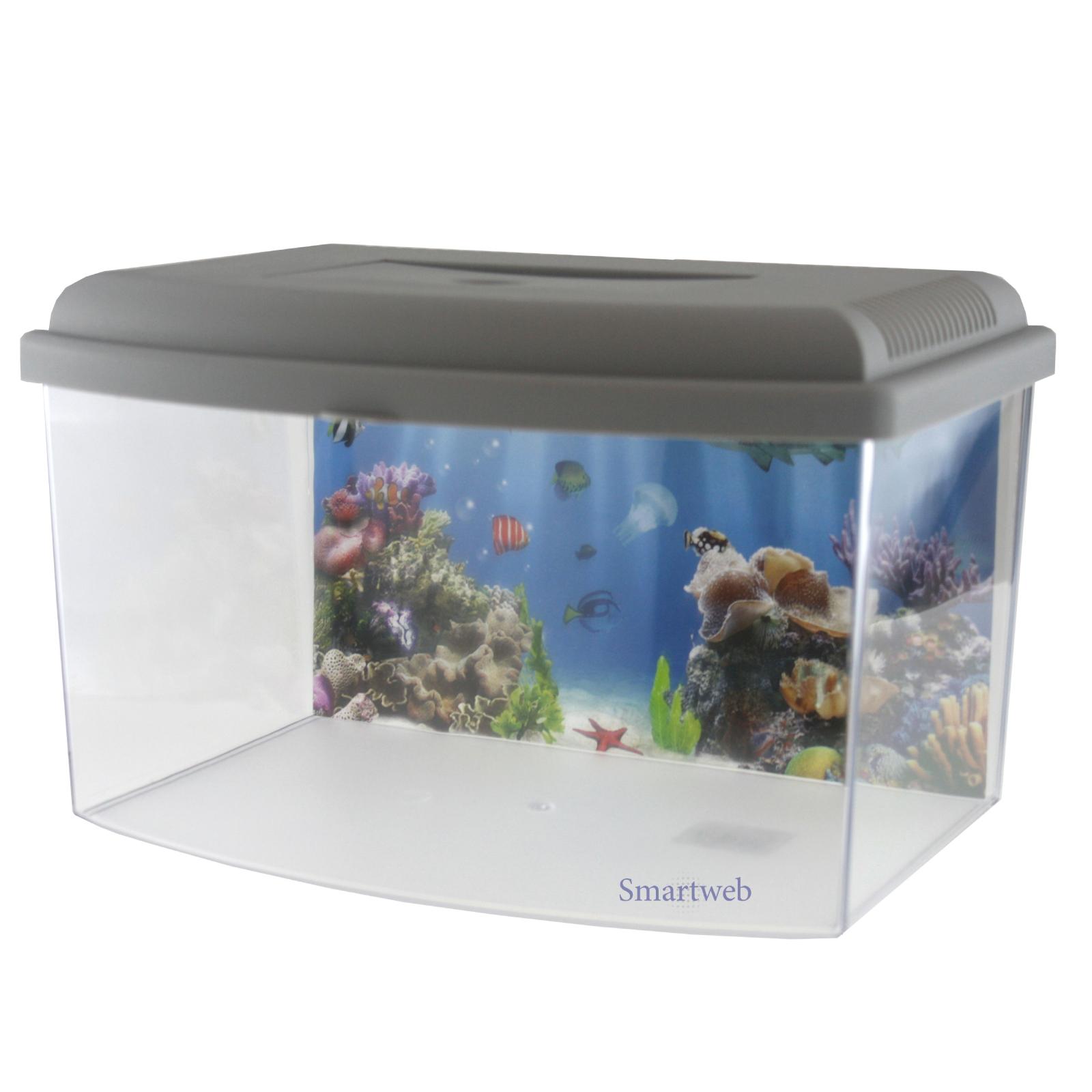 miniaquarium kinderaquarium terrarium transportbox fische. Black Bedroom Furniture Sets. Home Design Ideas