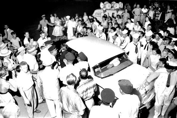 elvis in memphis part 4 swan song rex martin s elvis moments in 1956 Lincoln Continental Mark II Coupe in the audience also were elvis family and his girlfriend barbara hearn which attended the russwood park concert too