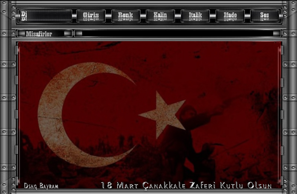18 Mart Çanakkale Zaferi teması 2