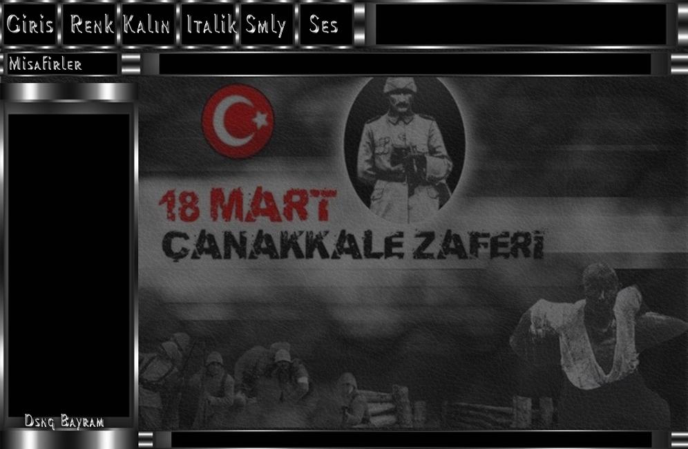 18 Mart Çanakkale Zaferi teması 1