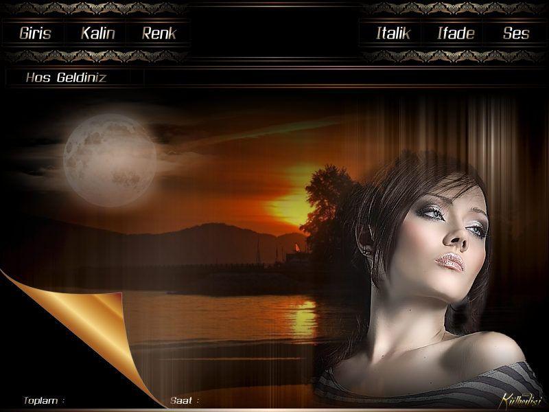 Külkedisi Flatcast Radyo Temaları - Günbatımı Manzaralı Duygusal Kadınlı Tema