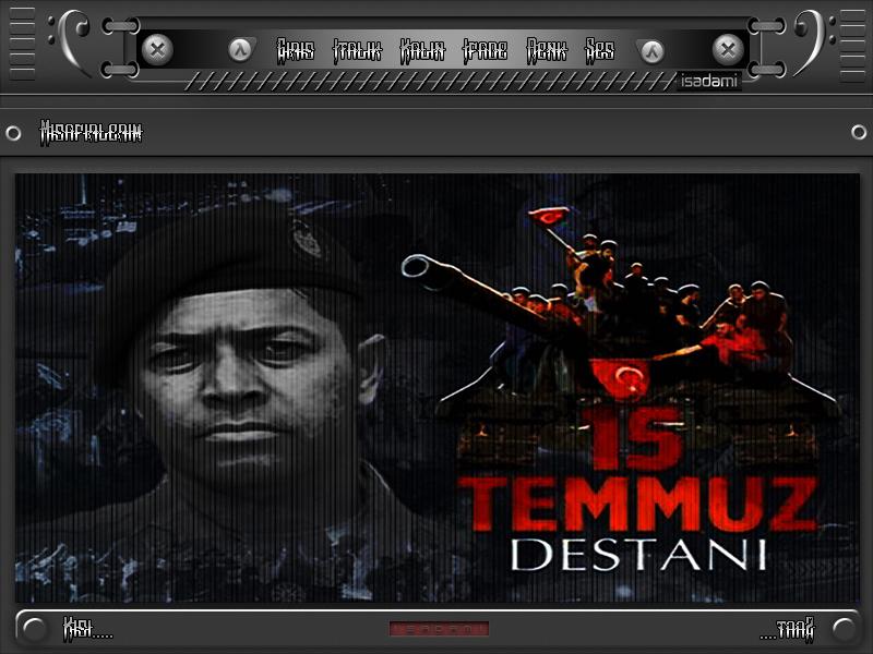 ISADAMI DAN 15__TEMMUZ_ANISINA RADYO TEMASİ FCP-15 Temmuz