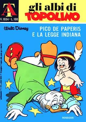 Gli Albi di Topolino n° 1034 - (1974)