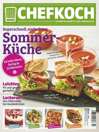 :  Chefkoch Magazin Juni No 07 2018