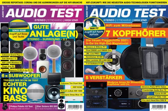 Cover: Audio Test Magazine No 04 + 05 2021