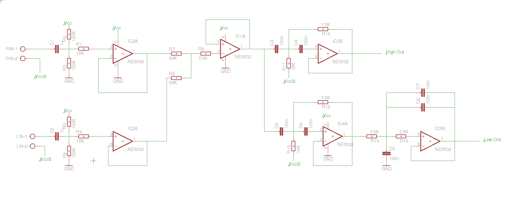 Designing A Noob Preamp Single Supply Diyaudio Opamp Audio Mixer Circuit Diagram With Ne5532 Click The Image To Open In Full Size