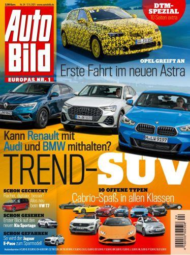 Cover: Auto Bild Magazin No 24 vom 17  Juni 2021