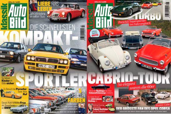 Cover: Auto Bild Klassik Magazine No 06 + 07 2021