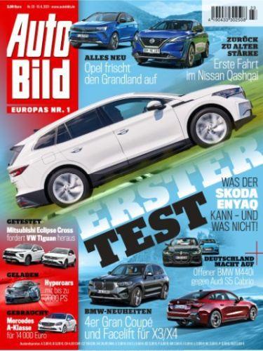 Cover: Auto Bild Magazin No 23 vom 10  Juni 2021