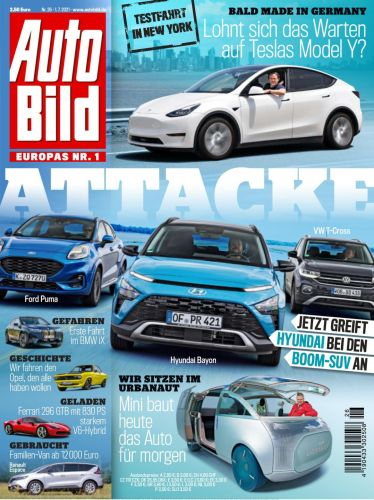 Cover: Auto Bild Magazin No 25 vom 01  Juli 2021