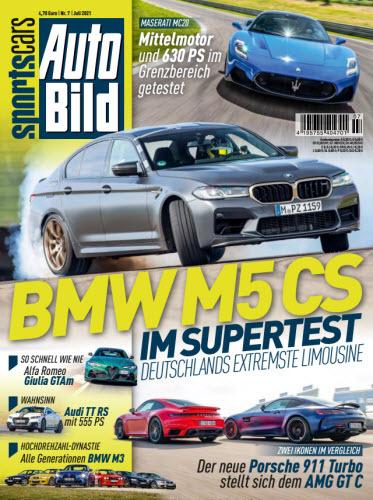 Cover: Auto Bild Sportscars Magazin No 07 2021