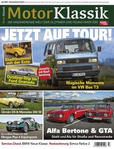 Cover: Auto Motor Sport Motor Klassik Magazin No 07 2021