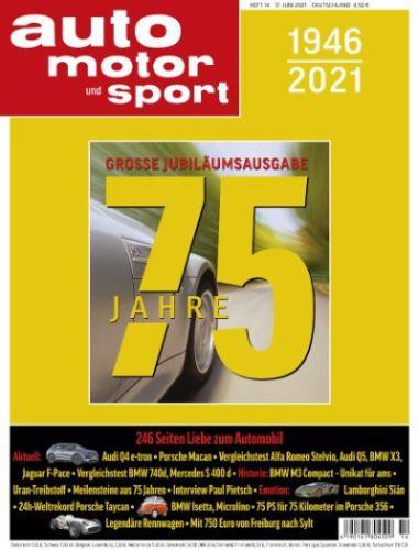 Cover: Auto Motor und Sport Sonderausgabe vom 17  Juni 2021
