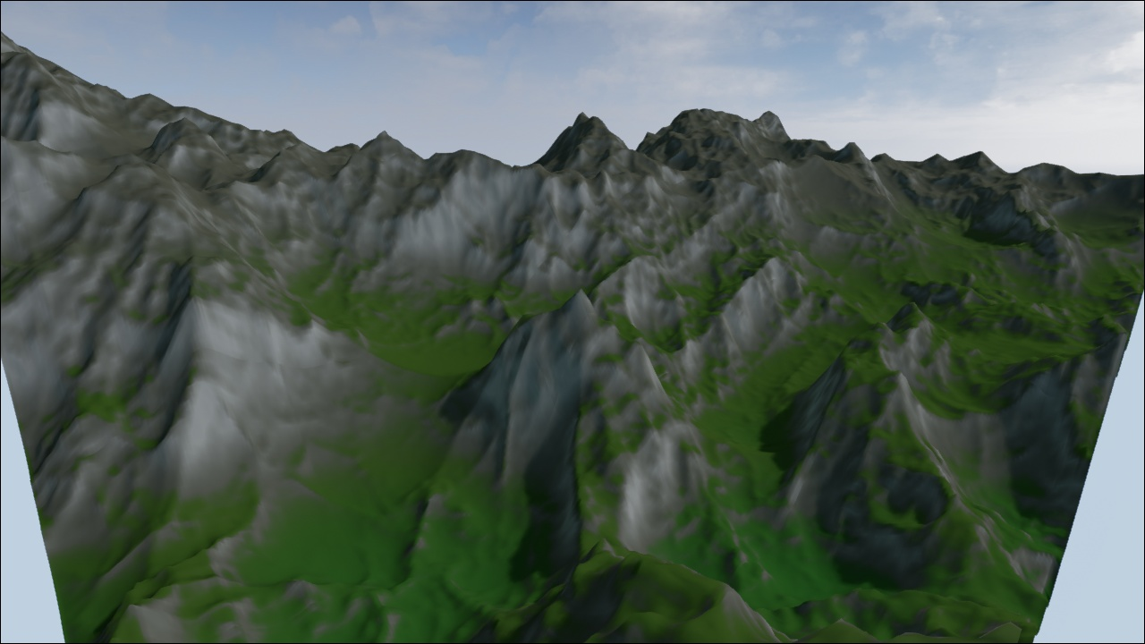 3D Modeling & Texturing: [Unreal Engine 4] Automated Terrain Texturing