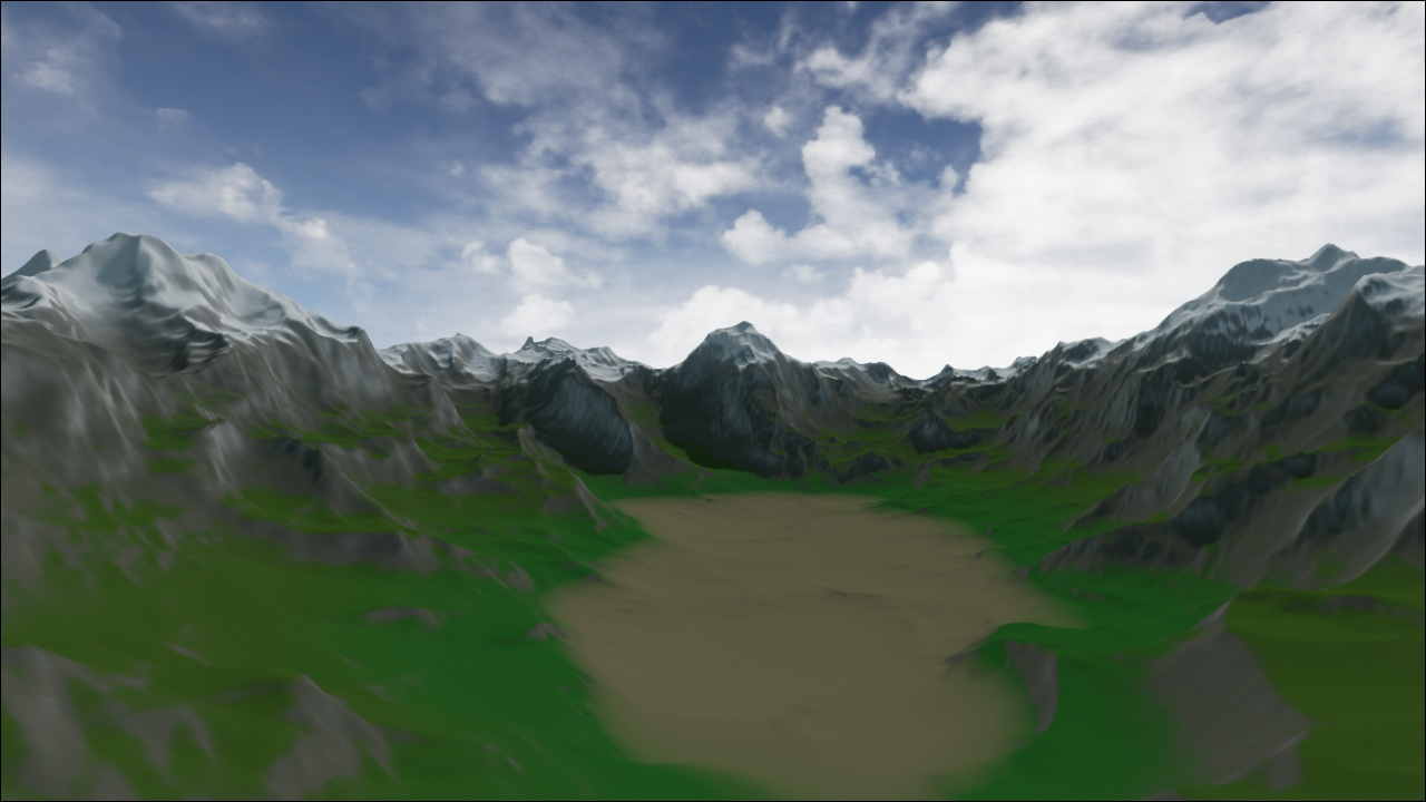 3D Modeling & Texturing: [Unreal Engine 4] Automated Terrain